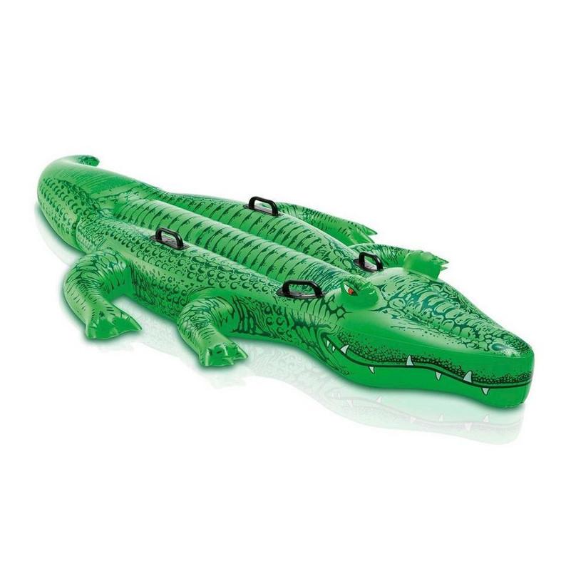 Надувний пліт Intex 58546, Крокодил, 168х86см