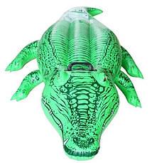 Надувний пліт Intex 58546, Крокодил, 168х86см, фото 2