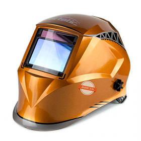 Сварочная маска хамелеон Artotic SUN9B Orange (4 сенсора) (оригинал)