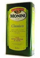 Масло оливковое Monini Olive Extra Virgin oil ж/б, 5л (Монини)