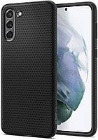 Чехол Spigen для Samsung Galaxy S21 - Liquid Air, Black (ACS02422)