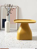 Кофейный столик ERVIN желтый 11 480 Х 480 X 500H