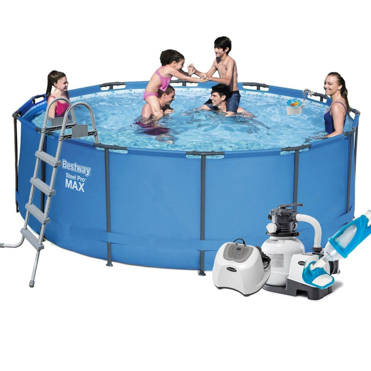 Каркасный бассейн Bestway 5614S - 10, 366 х 122 см