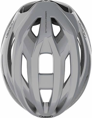 Шолом велосипедний ABUS StormChaser L 59-61 Race Grey, фото 3