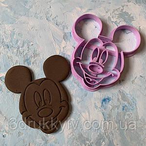 Вирубка зі штампом Міккі Маус #2 / Вырубка - формочка со штампом Микки Маус