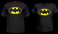"""Парные футболки """"Batman & BADgirl"""", фото 1"""