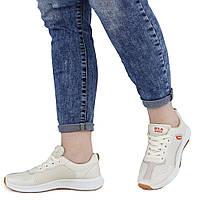 Женские кроссовки бежевые демисезонные Dual ILA Fashion 1381935614