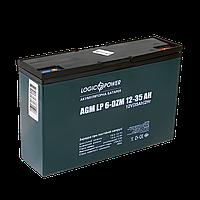 Тяговий свинцево-кислотний акумулятор LP 6-DZM-35 Ah, фото 1