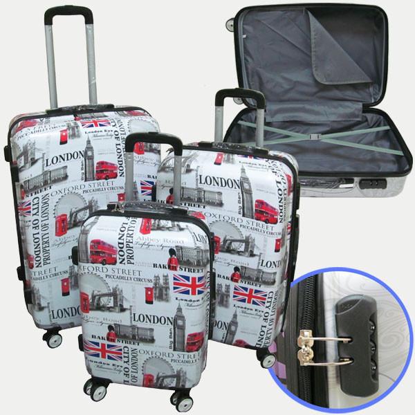 """7616_1_3 чемодан 28"""" """"Лондон"""""""