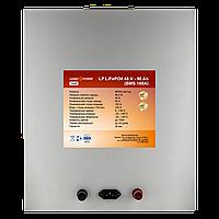 Акумулятор LP LiFePO4 48V - 90 Ah (BMS 100A) метал