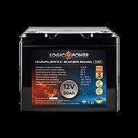 Аккумулятор LP LiFePO4 BYD 12V - 60 Ah (BMS 80A/40А) пластик