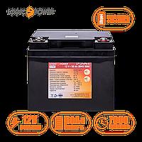 Акумулятор LP LiFePo-4 12 V - 50 Ah (BMS 50A) пластик