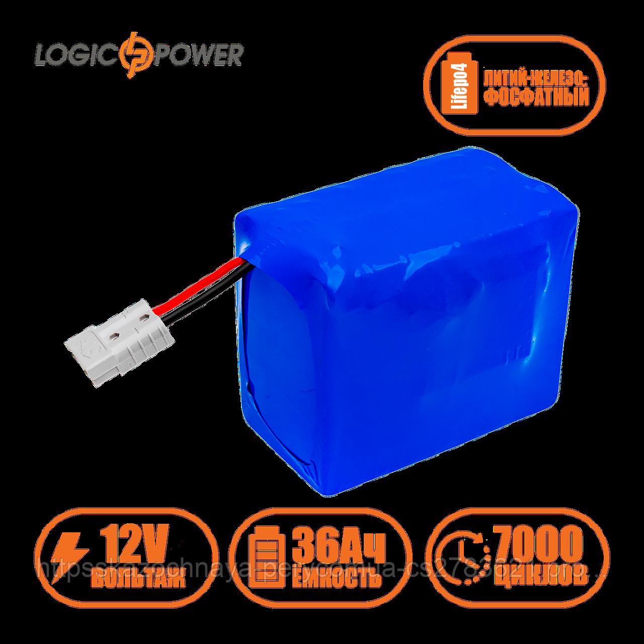 Аккумулятор LP LiFePo-4 12 V - 36 Ah (BMS 30A)