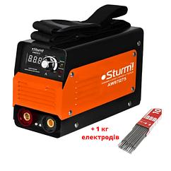 Сварочный инвертор (275А, Touch Start) Sturm AW97I275 + 1 кг електродов