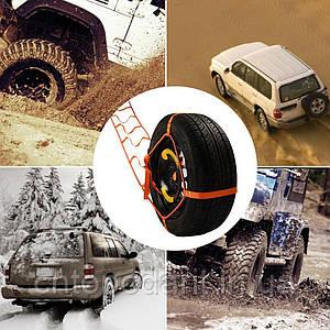 Рятувальний трос для автомобіля, система евакуації автомобіля, буксирувальний трос Код: 11-1002