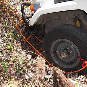 Рятувальний трос для автомобіля, система евакуації автомобіля, буксирувальний трос Код: 11-1007