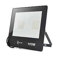Прожектор SLIM LED RITAR RT-FLOOD100A, 100W, 112xSMD2835, IP65, 8000Lm, 6500K (100%), PF>0.9 Ra>70,