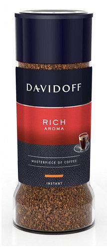 Кофе Зино Давидофф Rich Aroma растворимый 100 грамм в стеклянной банке