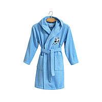 Халат детский Lotus - Hockey 9-10 лет голубой