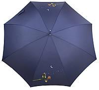 Зонт-трость женский Синий полуавтомат AIRTON (АЭРТОН) Z1627-6