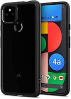 Чехол Spigen для Google Pixel 4a 5G - Ultra Hybrid, Matte Black (ACS01882)