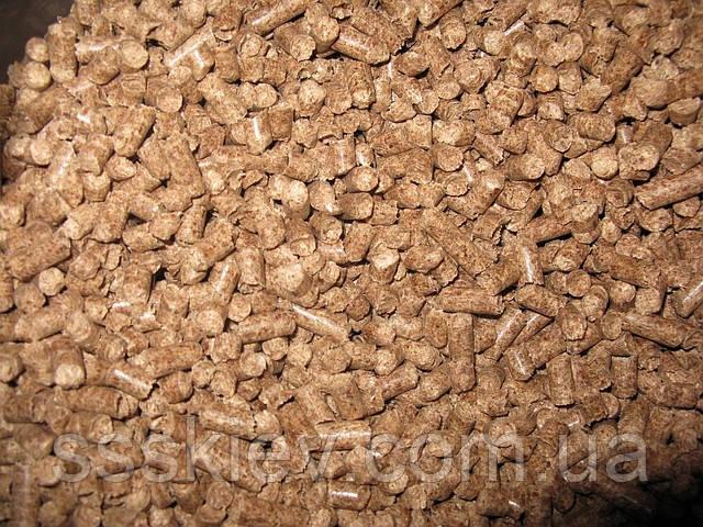Пеллеты из хвойных пород дерева 8мм