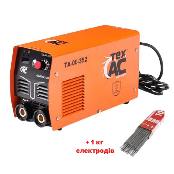Зварювальний апарат Tex.AC ТА-00-352 + 1 кг електродів