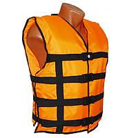 Жилет страховочный LIFEVEST оранжевый 100-130 кг
