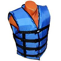 Жилет страховочный LIFEVEST синий 110-130 кг