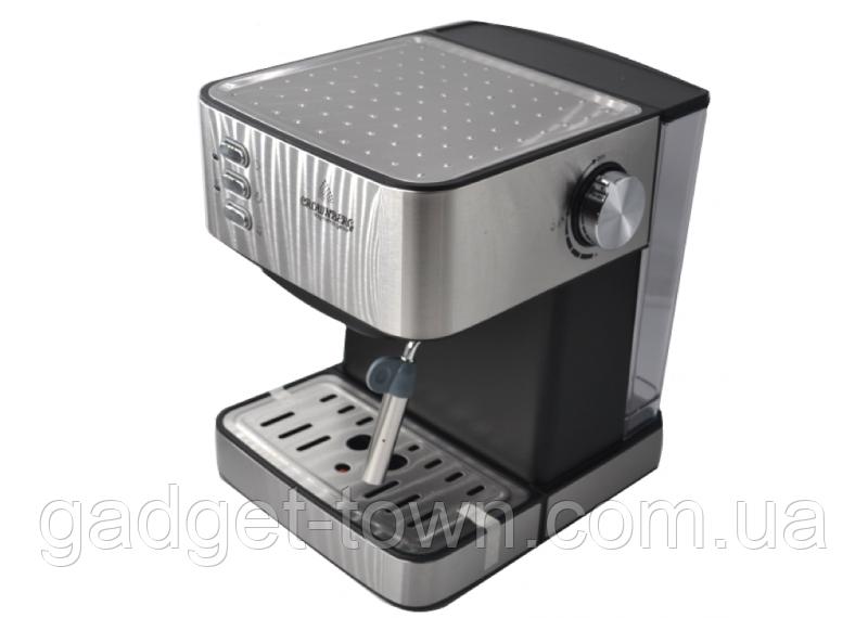 Кофемашина, кофеварка Сrownberg CB-1565 1000W с капучинатором