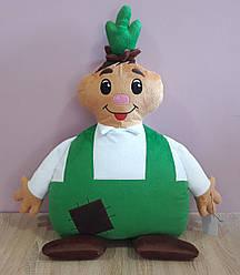 Мягкая игрушка-подушка Чиполлино ручная работа