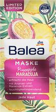 Маска для лица Balea MaskePineapple & Maracuja  2шт *8ml