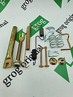 Рем/комплект гальмівних колодок зад. прав. Lanos, Nexia grog Корея, фото 1