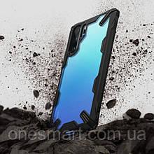 Чехол для Huawei P30 Pro Ringke серии Fusion X  цвет Black (черный)