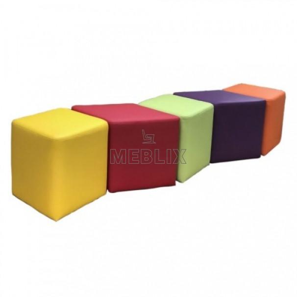 Комплект детских пуфов Ромб 5 шт. Мягкая мебель для начальной школы НУШ