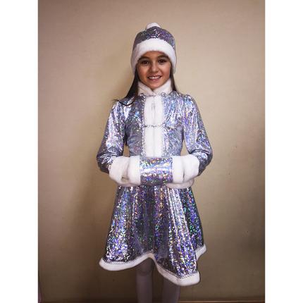 Карнавальный костюм снегурочки на 3-12 лет, фото 2