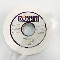 Стрічка нитепрошивная 15мм кол білий (рул 100м) Danelli L4YP44