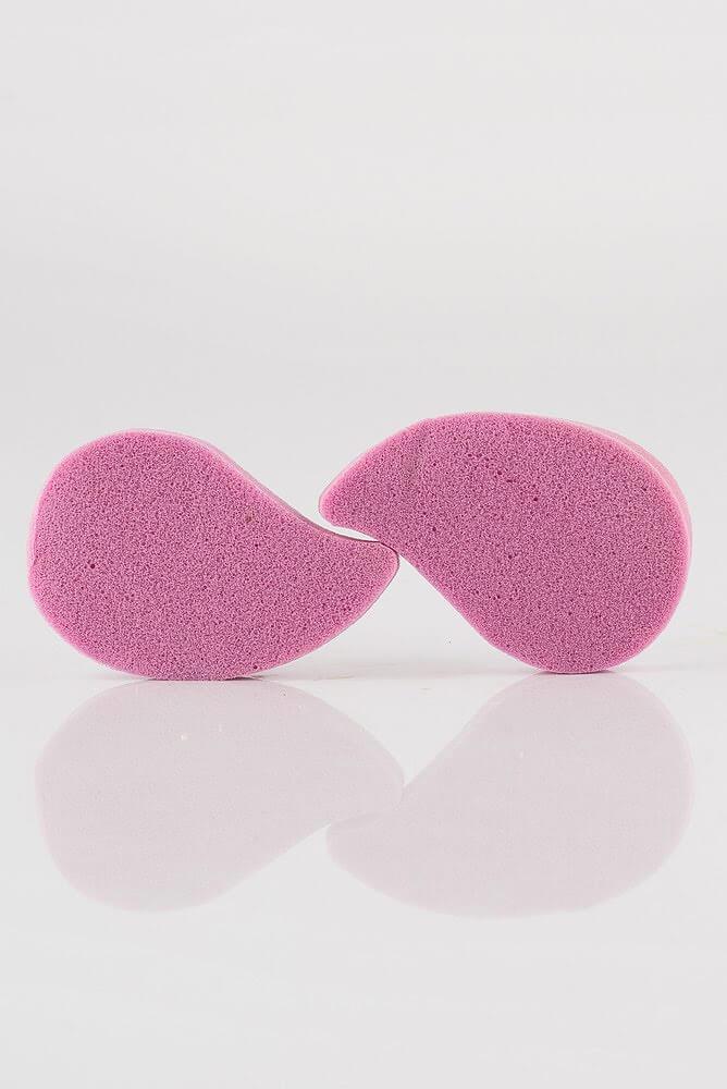 """MARTINI SPA 2 Antibacterial De-make Up Pads With Silver Ions Спонжі для вмивання і нанесення макіяжу """"Срібний"""