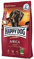 Сухий корм Happy Dog Sensible Africa дорослих собак при алергіях зі страусом 4КГ