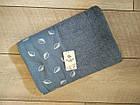 Рушник банний махровий з вишивкою листочки 70х140 см  100% cotton виробництво Туреччина, фото 3