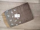 Рушник банний махровий з вишивкою листочки 70х140 см  100% cotton виробництво Туреччина, фото 6