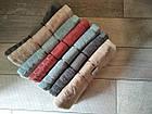 Рушник банний махровий з вишивкою листочки 70х140 см  100% cotton виробництво Туреччина, фото 7