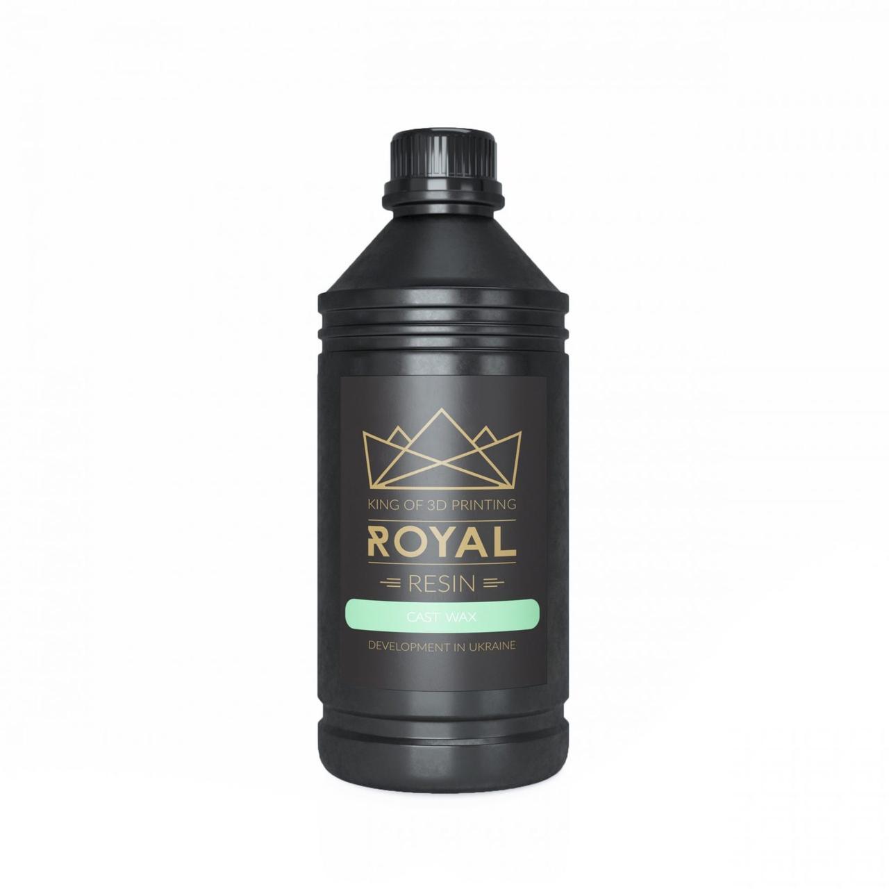 Royal Resin: Cast Wax Green LCD 0.5л