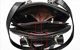 Рюкзак-сумка Sujimima рожевий з окантовкою, фото 8