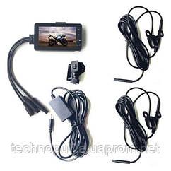 Відеореєстратор Leshp SE300 для мотоцикла з двома камерами (100029)
