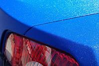 Матовая пленка алмазная крошка синяя Luxon 152 см