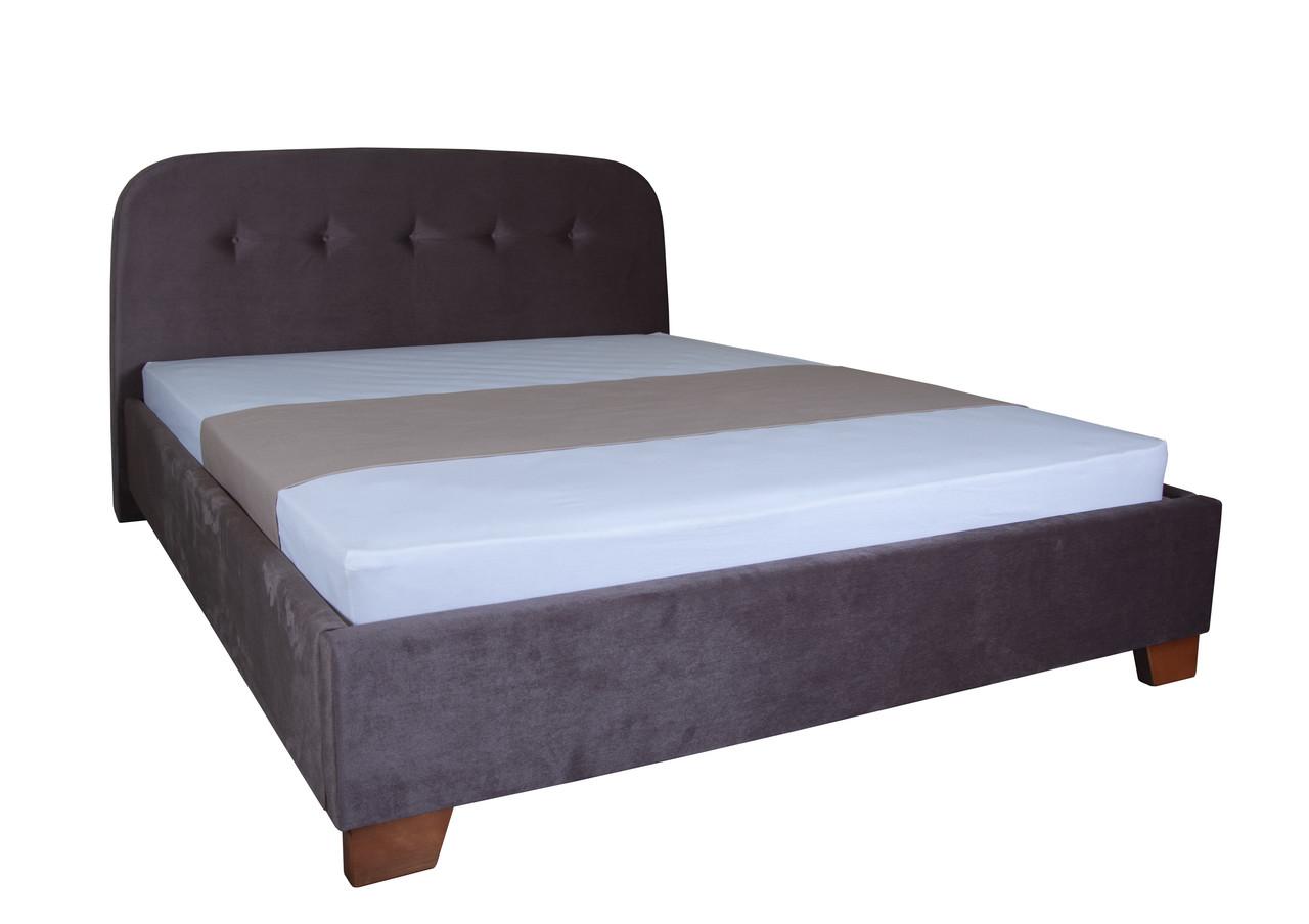 Кровать Милана без подъемного механизма ТМ Melbi
