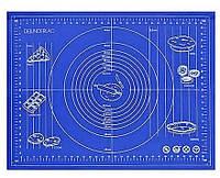 Силиконовый коврик с разметкой 66*47 см