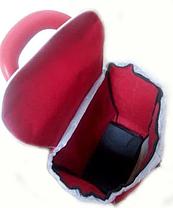 Тачка сумка візок кравчучка з потрійним колесом 95см Stenson MH-2786 Red, фото 3