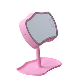 Зеркало с подсветкой и подставкой Mirror Lamps Pink 152843
